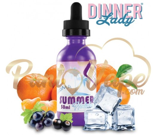 Dinner Lady Summer – Black Orange