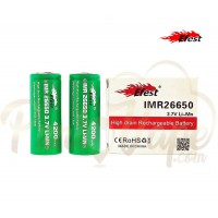 EFEST (Green) IMR 26650 (4200Mha) 50A